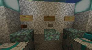 Loot boxes dans une boutique sur serveur Minecraft