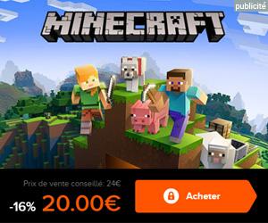 Acheter Minecraft Java à 20€
