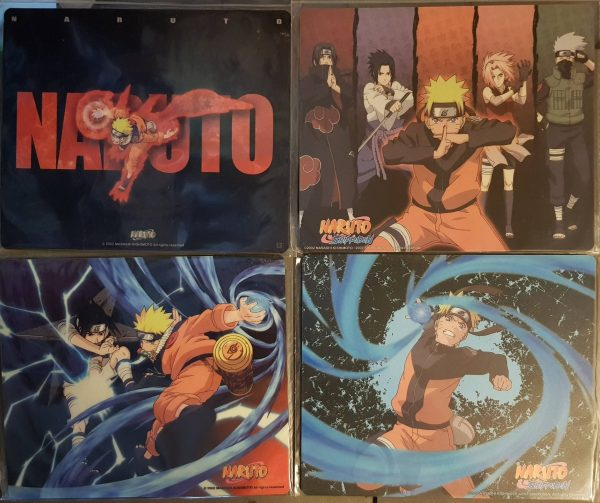 Visuels possibles du poster du coffret Naruto